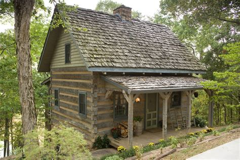 Hewn Log Cabin by Hewn Log Homes For Boot Ranch