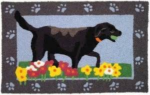 black lab rug black lab with doormat jellybean rug everything else