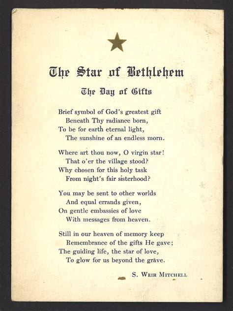 dr mitchells christmas poem  circulating   nlm