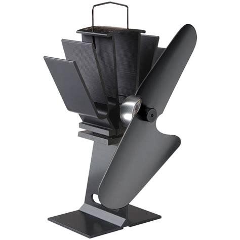 wood stove pipe fan ecofan 800 wood burner fan black blade