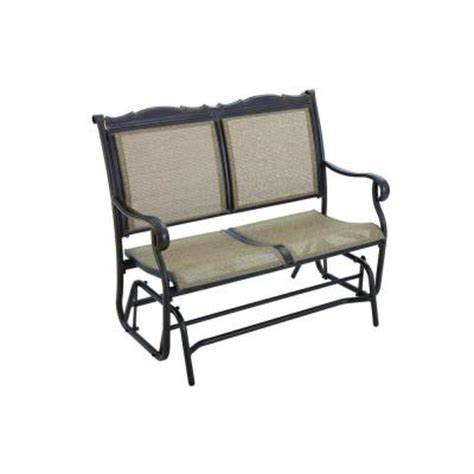 hton bay westbury patio glider adq27104k01 the
