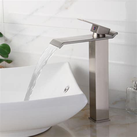 wall mount vessel sink faucets wall mount bathroom vessel sink faucet
