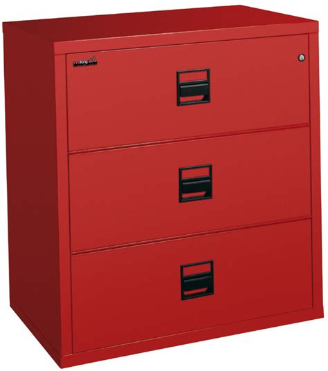 Fireking Signature Series 3 Drawer 38 Inch Wide Lateral Three Drawer Lateral File Cabinet