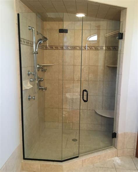 shower door installation custom glass shower doors
