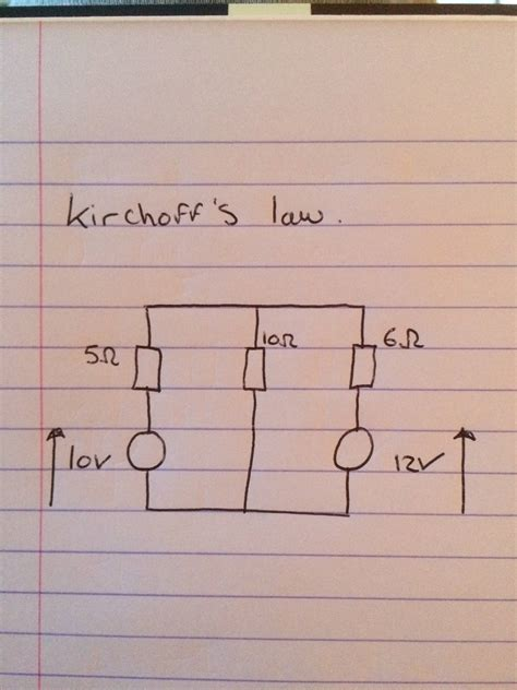 finding the voltage across a resistor kirchoff s finding the voltage across resistors electrical engineering stack exchange