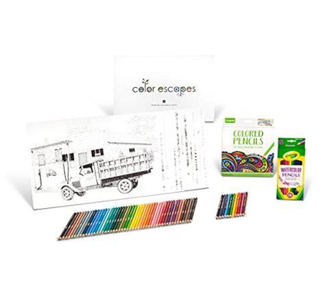 Crayola Coloring Trools Edition crayola color escapes coloring pages pencil kit