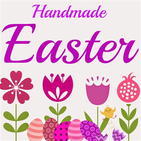 Handmade Easter - the gangstress tutorials handmade easter items