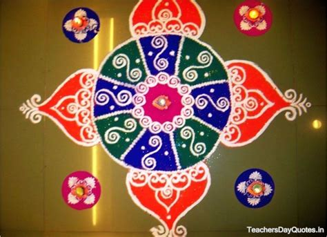 Handmade Rangoli Designs - simple rangoli designs for diwali 2015 beautiful