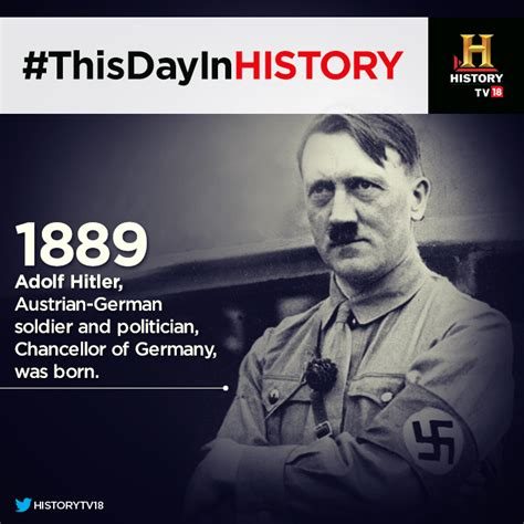 hitler born where thisdayinhistory 1889 the man who tried to redraw the