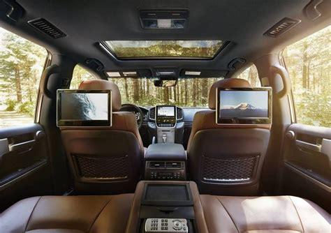toyota land cruiser interior 2017 2017 toyota land cruiser interior technology leather