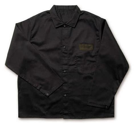 Black Cotton Jacket Xl Mj0014 hobart 770569 retardant cotton welding jacket xl hardware tools tool cls