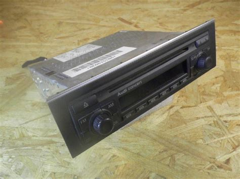 Audi A4 Radio by Radio Audi A4 Avant 8e B6 1 9 Tdi 96 Kw 131 Ps 09 2001