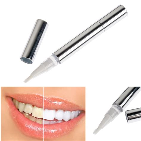 Marker Pen Pemutih Gigi teeth whitening products pen pena pemutih gigi silver