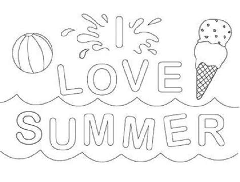 summer coloring page pdf 89 free printable summer coloring pages kids summer