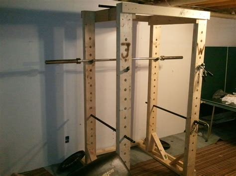 woodwork wooden power rack plan  plans