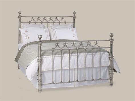 Nickel Bed Frame Store Original Bedstead Braemore Bed Nickel