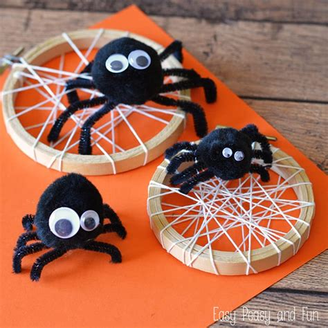 spider crafts for silly spider craft easy peasy and