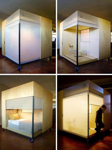 mobile room feng shui expert s mobile micro cube dwelling tiny house