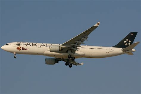 emirates star alliance file airbus a330 322 star alliance thai airways