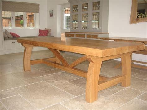 Rustic Oak Dining Tables Oak Dining Table Rustic
