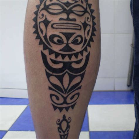 tribal tattoo in legs leg 14 turtle leg on tattoochief