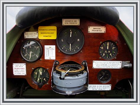 Tips To Buy Home In 2017 tiger moth instrument panel