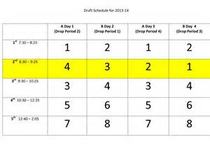 block schedule template saved by the bell mhs planning to modify block schedule