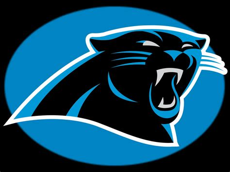 panthers football colors carolina panthers logo logospike and free