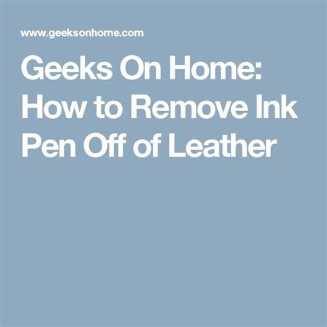 how to get ink off of a leather couch 17 best images about cleaning ideas on pinterest deep