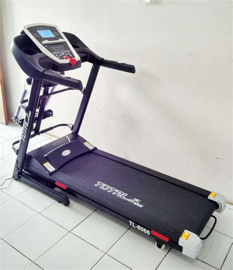 Alat Fitnes Buat Lari Jual Alat Fitnes Lari Auto Incline Harga Bagus Karanganyar