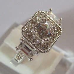 Cincin Cincin Kawin Gold Titanium Original Import cincin silver 925 dengan hiasan batu blue sapphire 2 54 cts