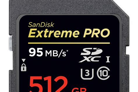 Sandisk 512gb sandisk s 512gb sd card is the in the world the