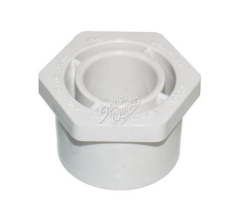 Reducer 3 4 X 1 2 Inch Wavin Tigris Green pvc 1 1 2 x 3 4 inch reducer bushing slip x spig the spa works