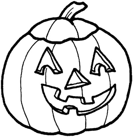 Silly Pumpkin Coloring Pages | 301 moved permanently