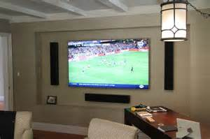 Tv In House Home Entertainment With Samsung Tv Totem Tribe Iii On