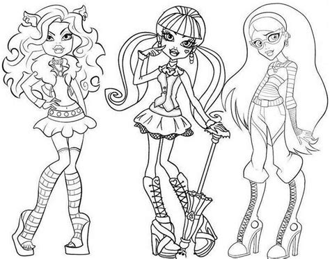 monster high clawd coloring pages monster high clawdeen wolf coloring pages az coloring pages