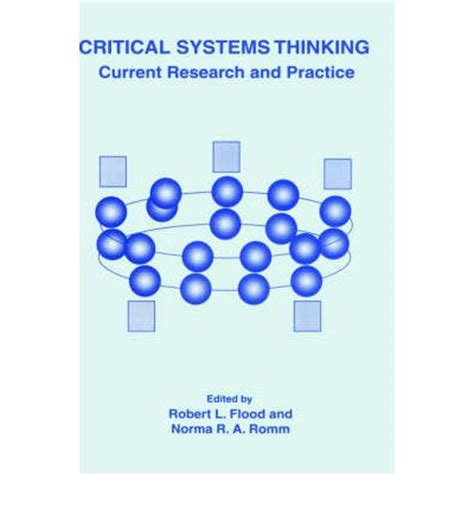 research methods and statistics a critical thinking approach critical systems thinking robert louis flood 9780306454516