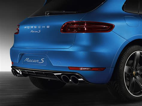 Porsche Macan Accessories by Porsche Exclusive Spices Up The Macan With New Accessories
