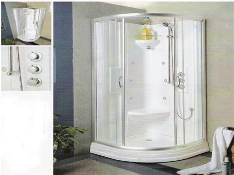 Shower Enclosures Small Bathrooms Shower Inserts With Seat Shower Stalls For Small Bathroom Small Corner Shower Stalls Design