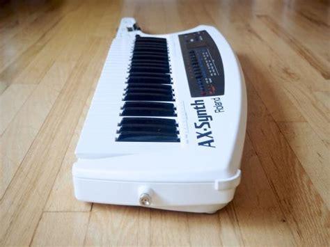 Keyboard Roland Ax Synth roland ax synth keytar shoulder synthesizer keyboard mint w box power supply reverb