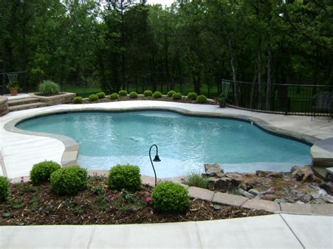 free form pool free form pool designs in okc norman ok blue haven