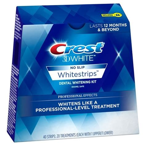 crest  white whitestrips professional effects teeth