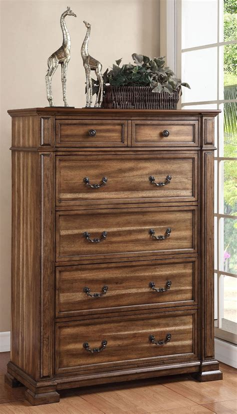 Rustic Bedroom Set With Storage Barclay Rustic Acacia Poster Storage Bedroom Set From