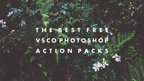 tutorial download vscocam full pack the best free vsco photoshop action packs hipsthetic