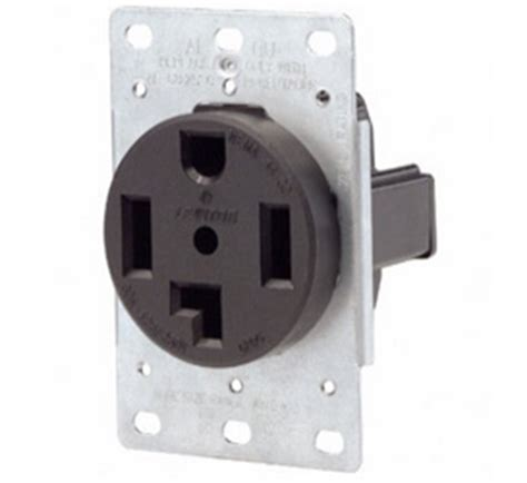 30a 250v 4 wire dryer receptacle outlet nema 14 30r