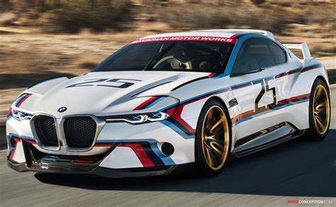bmw  csl hommage  concept revealed autoconceptioncom