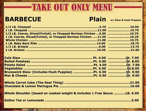 Menus ? Clyde Cooper's BBQ