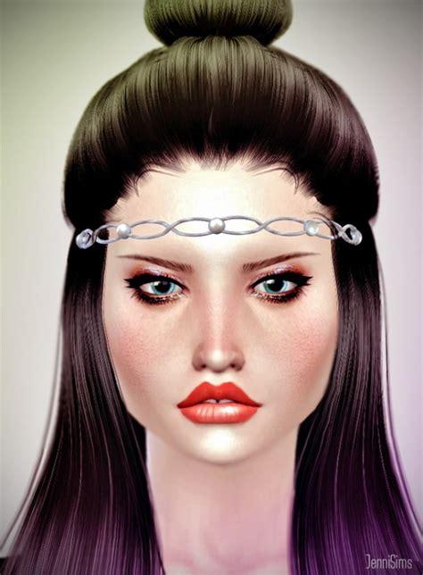 jenni sims accessory bow headband sims 4 downloads jenni sims sets of accessory tiaras headband sims 4