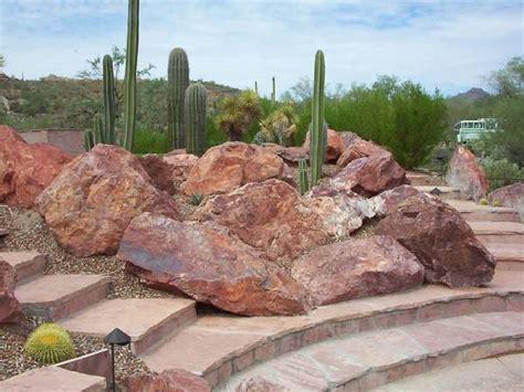 Desert Rock Garden Ideas Hillside Landscaping
