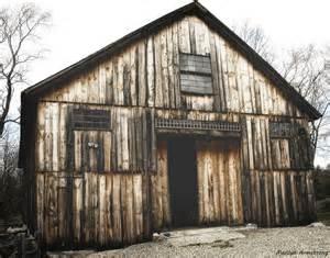 wooden barns inside the barn serendipity